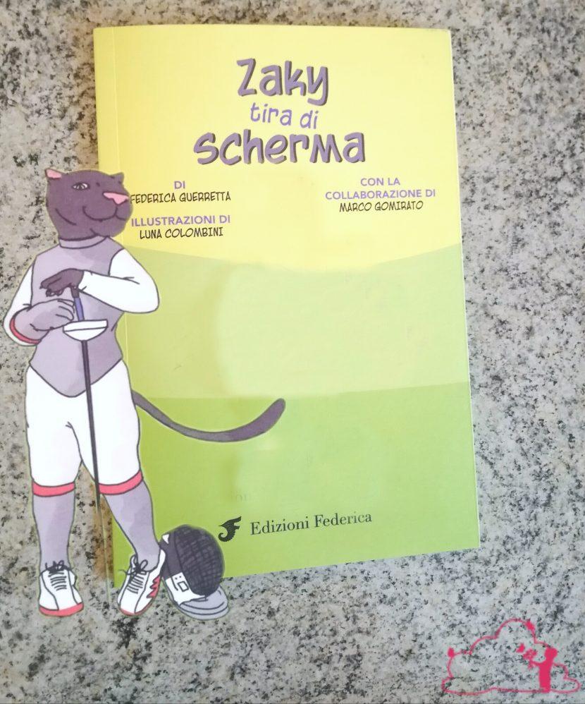 Zaki tira di scherma edizioni Federica